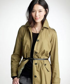 Spring Summer Women Raincoats Trends 2013 Picture