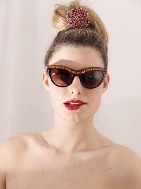 Women Fashion Sunglasses Trend 2013 Image