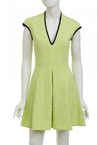 11 Bold Lepore Dresses Green Dress Image