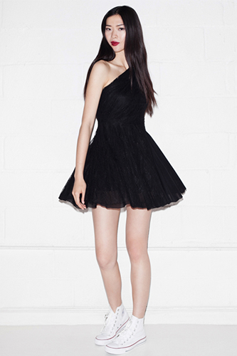 Fancy Frocks Collection for Hot Summer Days Beautiful Black Dress Photo