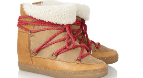 Isabel Marant New Wedge Shoes Collection Image