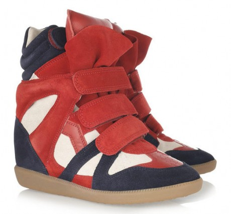 Isabel Marant New Wedge Shoes Collection Still Image