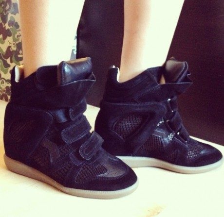 Isabel Marant New Wedge Shoes Collection Picture