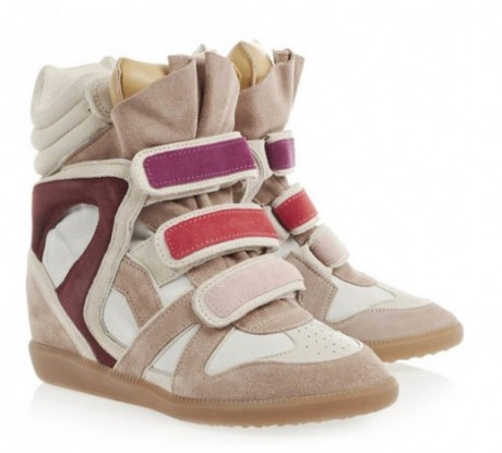 Isabel Marant New Wedge Shoes Collection Still