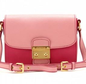 Miu Miu Pink Pieces of Accessories Shoulder Bag Picture