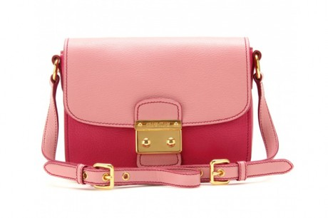Miu Miu Pink Pieces of Accessories Shoulder Bag Picture