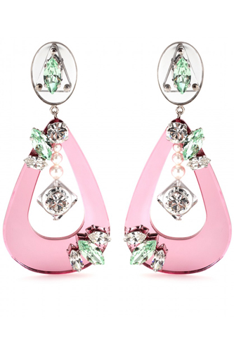 Miu Miu Pink Pieces of Accessories Wallpaper