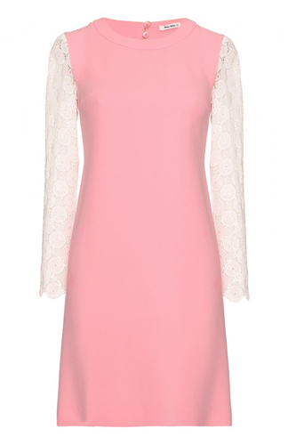 Miu Miu Pink Pieces of Accessories Dress Photo