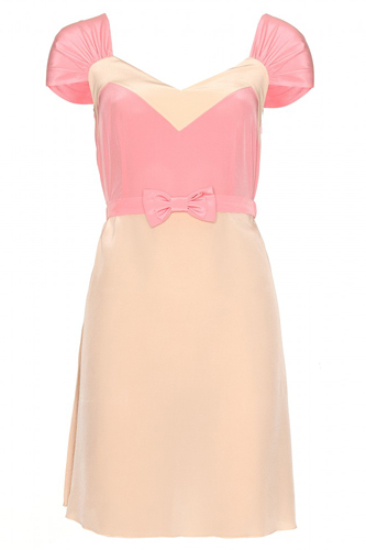 Miu Miu Pink Dress Photograph
