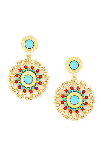 Turquoise Baubles Jewelry Wallpaper