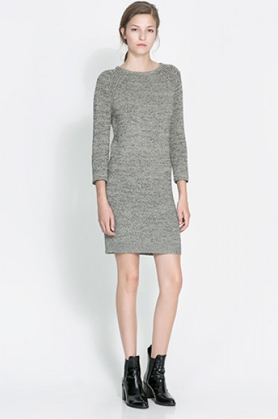 Chic Sweater Dresses Collection 2013 Hot Model Hot Dress Picture
