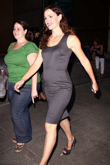 Jennifer Garner Black Tight Dress