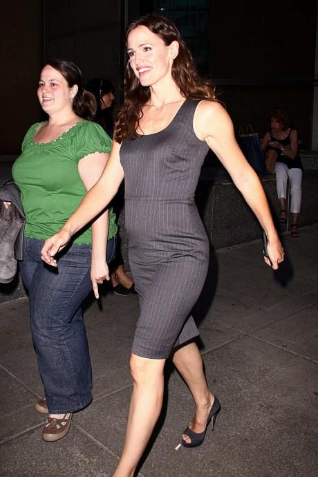 Jennifer Garner Black Tight Dress