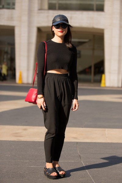 7 Black Pants for Streets