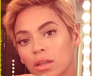 Beyoncé Short Hairstyle Wallpaper