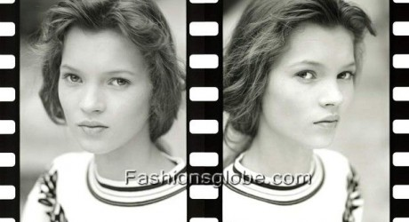 Kate Moss 1st Ever Photo Shoot Pic