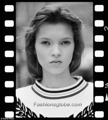 Kate Moss 1st Ever Photo Shoot