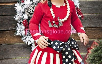 Christmas Children's Dresses Collection