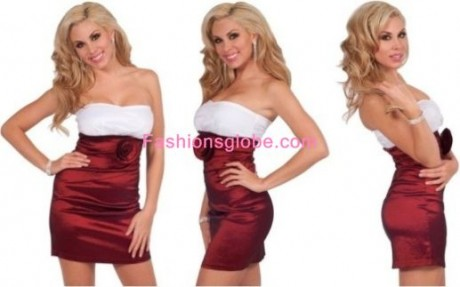 Short Christmas Dresses Min Skirt
