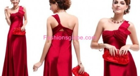 Christmas-Party-Dresses-for-Women-2012-Padded-Satin