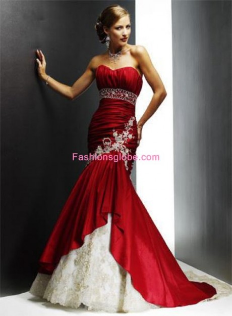 Christmas Wedding Gown Dress