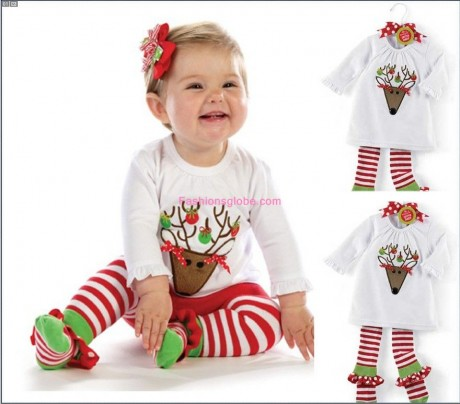 Christmas Outfits for Toddler Girls