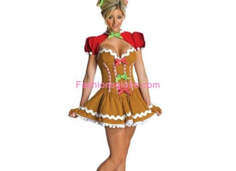Ginge Girl Christmas Costume