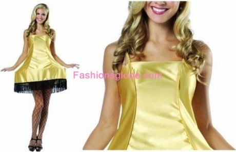 Gold Christmas Dress