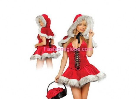 Red Christmas Costumes For Girls