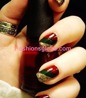 Christmas Nails Art Designs