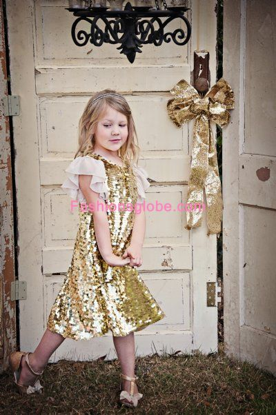 Children's Christmas Dresses Collection