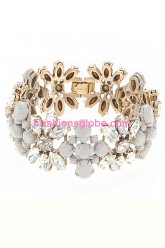 Stone Stripe Bracelet New Designs Jewellery Item