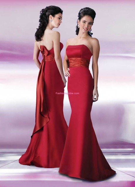 Red Christmas Wedding Dress
