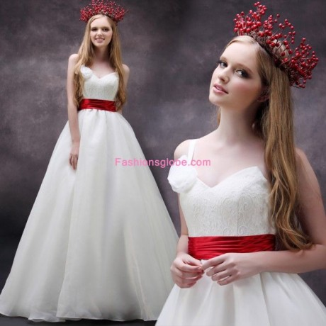 Contrast Wedding Dresses