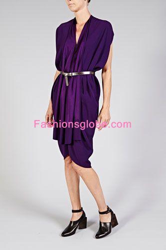 Foil dress Style