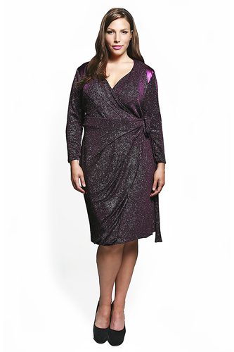Plus Size Model Dresses Photograph