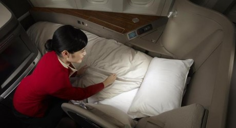 Cathay Pacific Airlines Glamorous Cabins Photos
