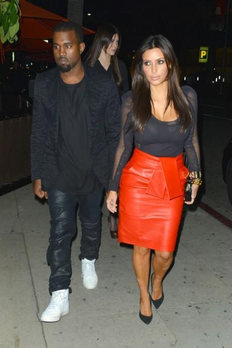Kanye West & Kim Kardashian Pics