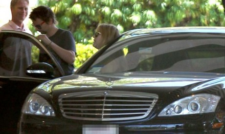 Kate Hudson & Matt Bellamy Car Photos