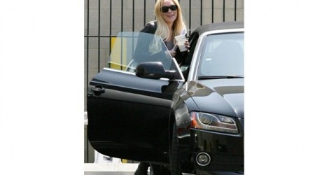 Lindsay Lohan Car Photos