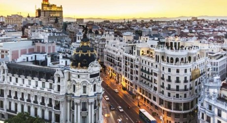 Madrid Luxury Shopping Place Wallpapers
