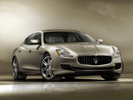 Maserati Quattroporte by Ermenegildo Zegna Wallpapers