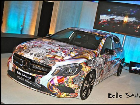 Mercedes Benz A-Class by Belle Sauvage Photos