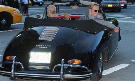 Michael Fassbender Car Photos