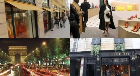 Paris Luxury Shopping Place Images