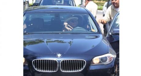 Rosanna Arquette Luxury Car Photos