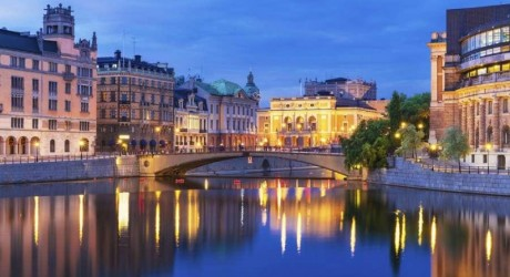 Stockholm Luxury Shopping Place Wallpapers
