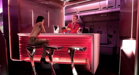 Virgin Atlantic Airlines Glamorous Cabins Photos