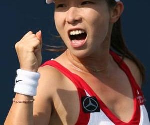 Zheng Jie beautiful picture