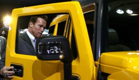 Arnold Schwarzenegger car pictures